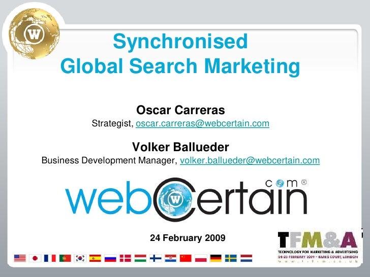 WebCertain TFM 2009