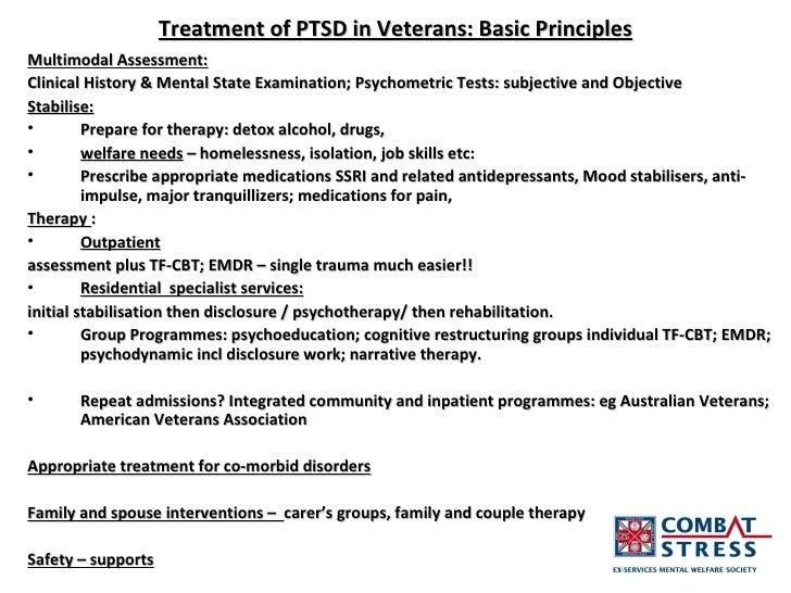 Treatment of Ptsd in Veterans