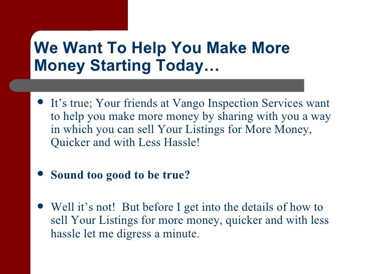 Why Have A Pre Listing Inspection