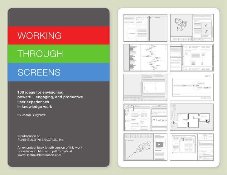 Working through Screens Idea Cards  |  www.FlashbulbInteraction.com/WTS.html