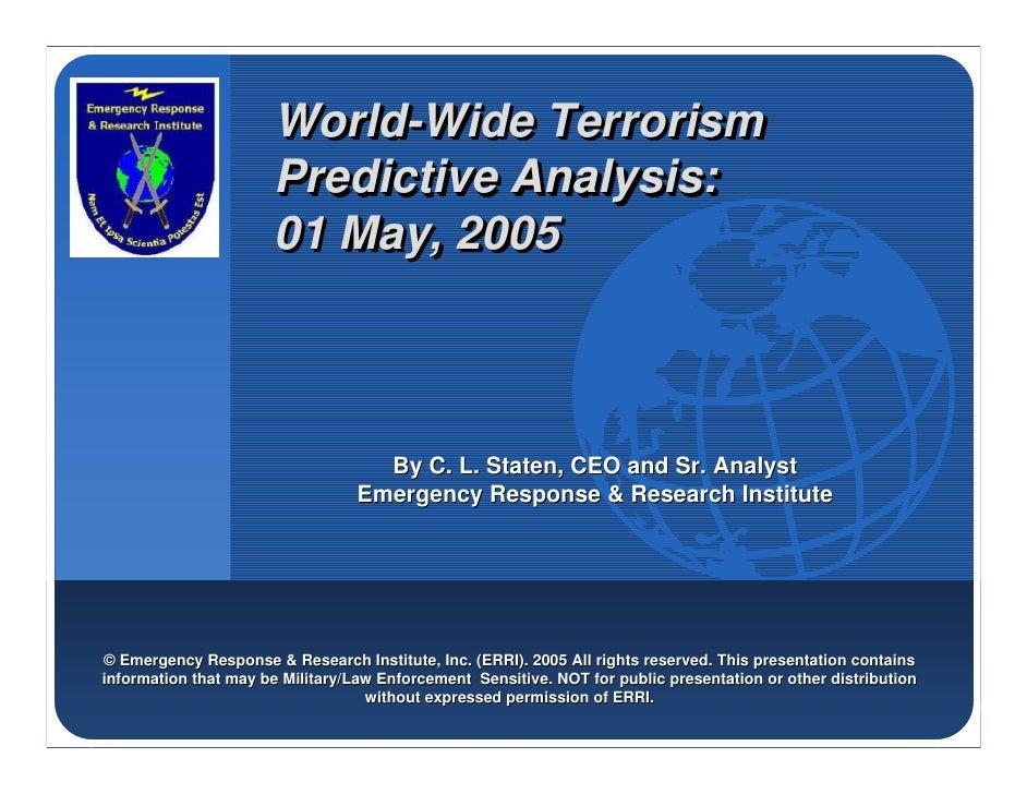 Company                        World-Wide Terrorism                        World-Wide LOGO                        Predicti...