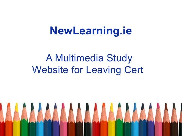 NewLearning.ie