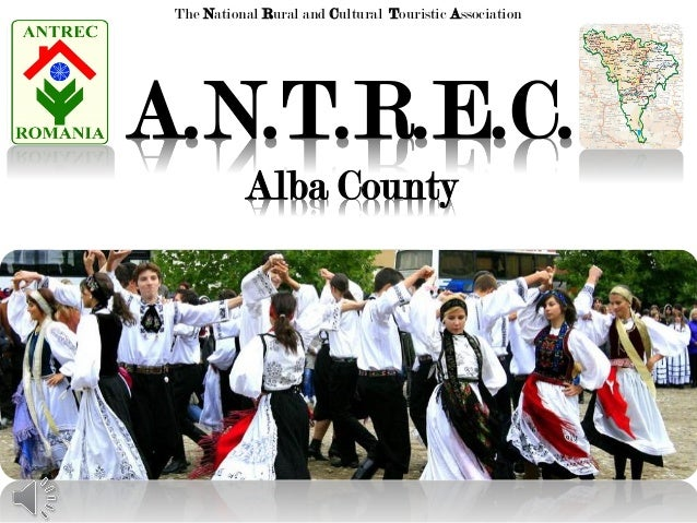Presentation of A.N.T.R.E.C. Alba Branch and Alba County