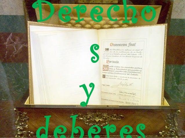 A. COBOS. DERECHOS Y DEBERES