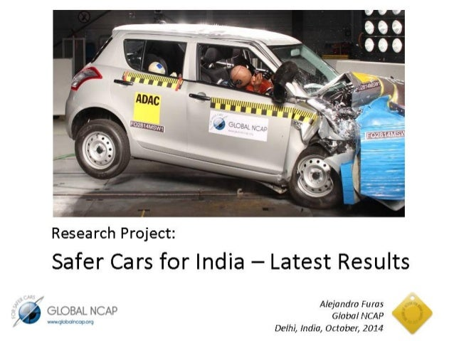 Safer Cars For India - latest results