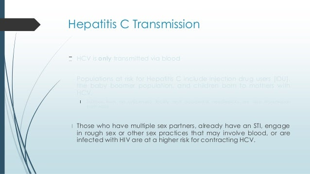 Is hepatitis c sexually transmitted photo 53