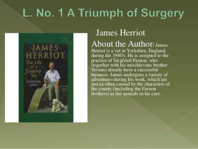 A triumph of surgery