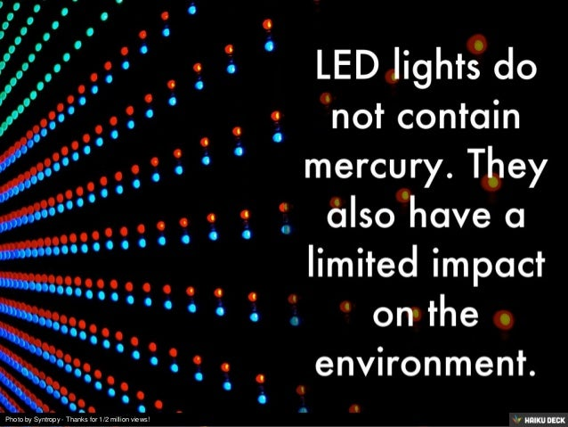 5 Facts About LED Lights