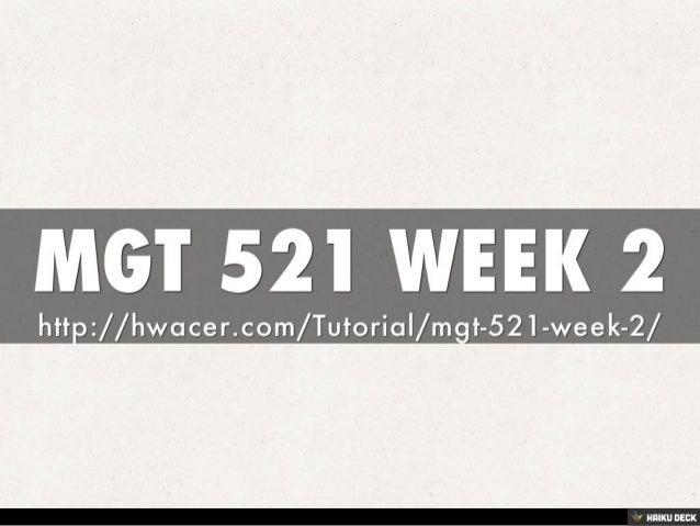 mgt 521 week 2
