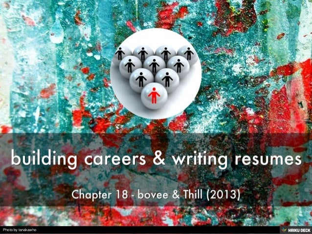 building careers & writing resumes