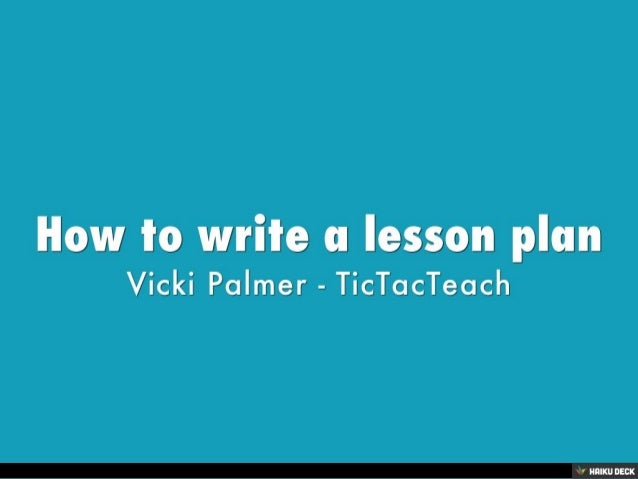 how to write an ode lesson plan