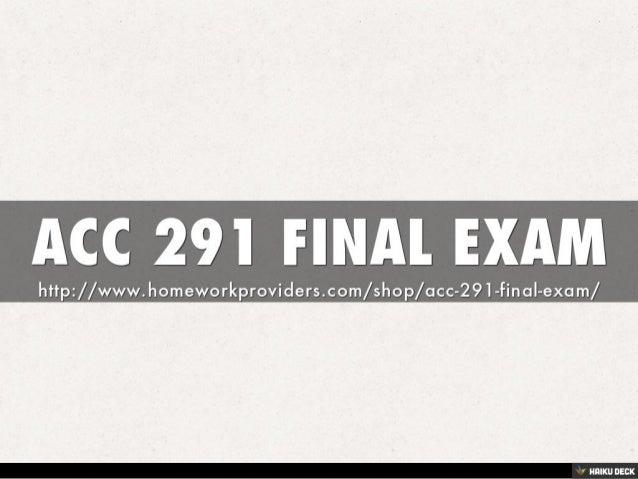 acc 291 Study 5 acc 291 (new) flashcards from homework r on studyblue.