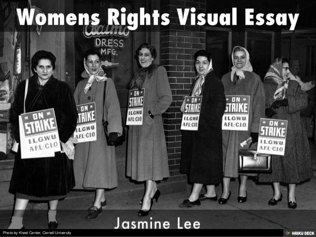 I need help on an essay and the topic is womens rights.?
