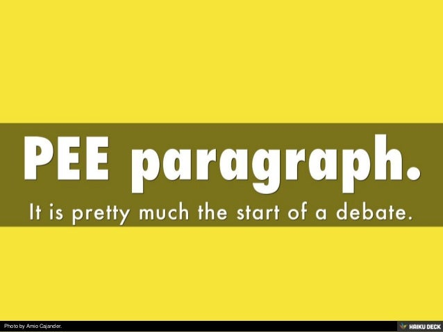 how to start a negative paragraph