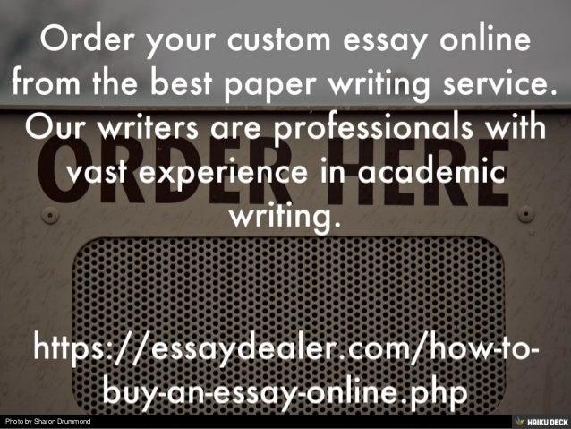 custom essay o