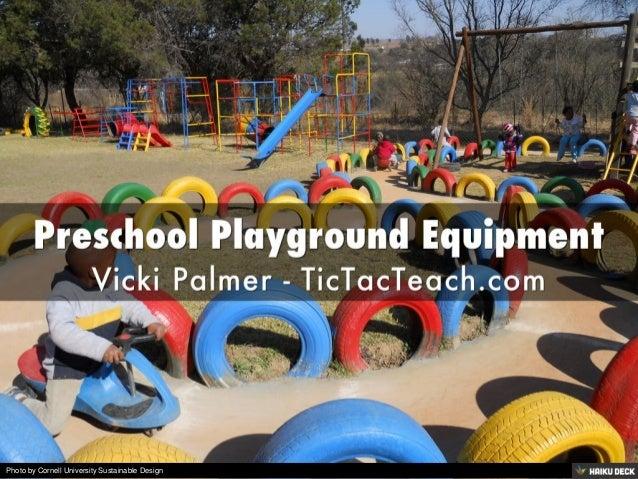 Preschool Playground Equipment