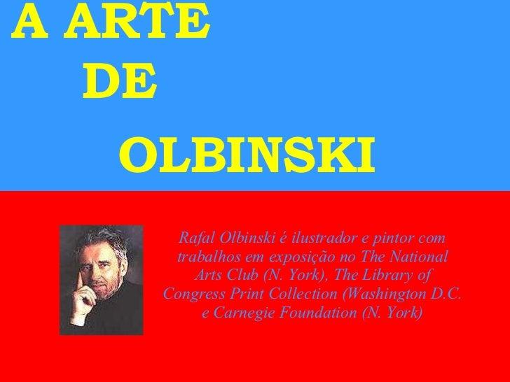 A Arte De Olbinski Abb
