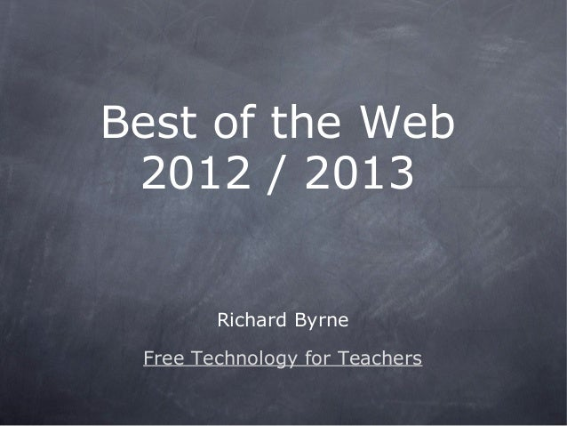 A   best of the web january 2013:2012