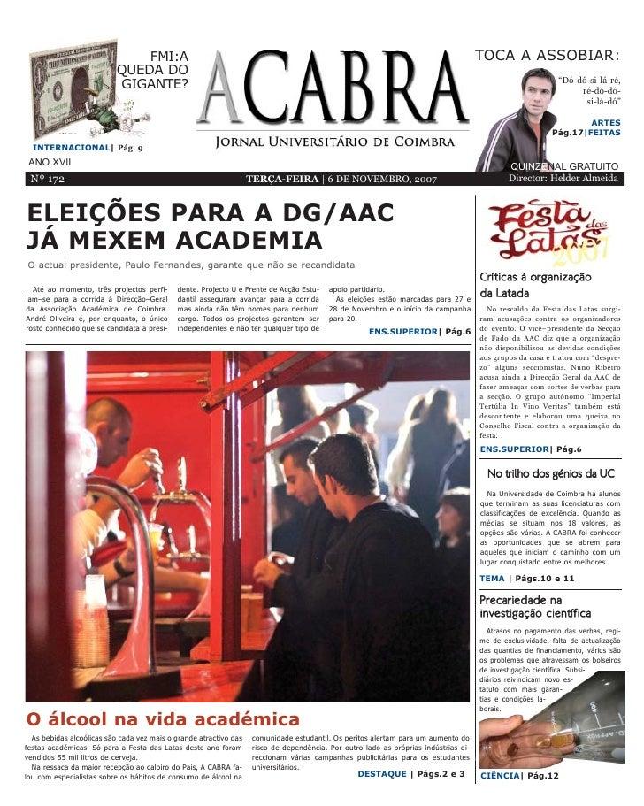 A CABRA – 172 – 06.11.2007