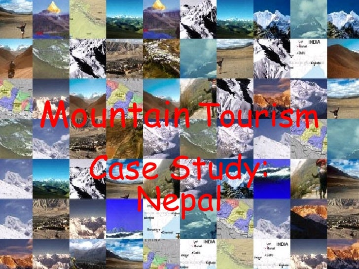 A Case study of Mountain Tourism in Nepal