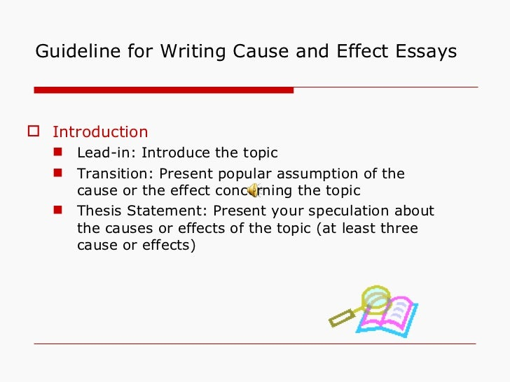 cause and effect of depression essay