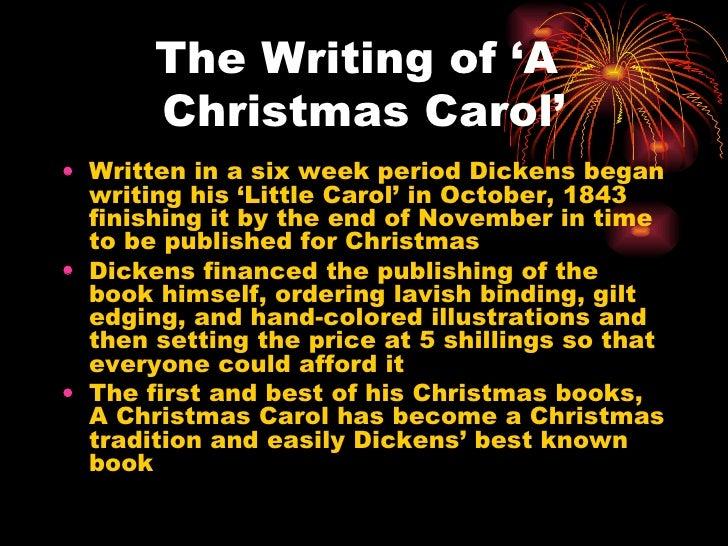 A christmas carol essay