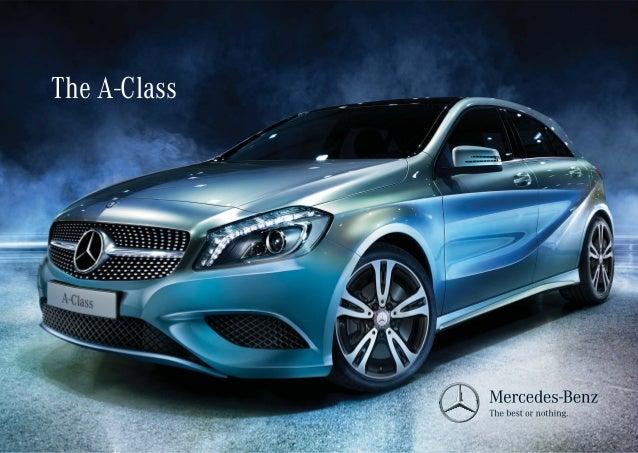 2015 mercedes a class brochure india. Black Bedroom Furniture Sets. Home Design Ideas