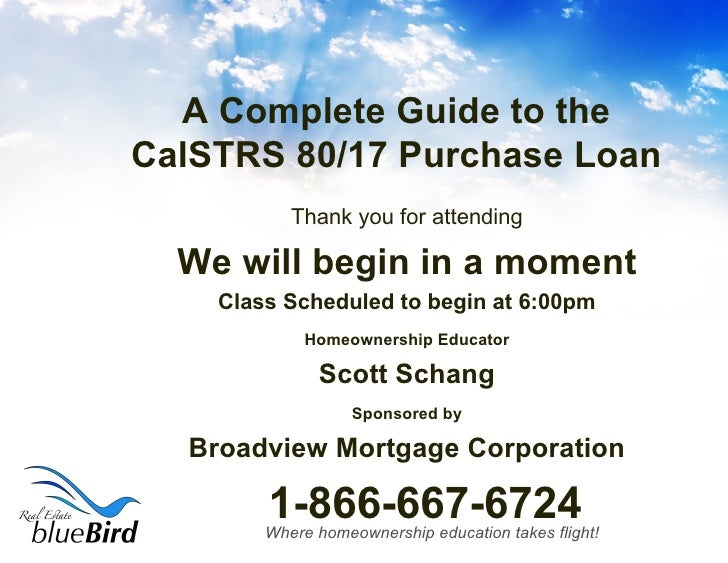 A Complete Guide to the CalSTRS 80/17