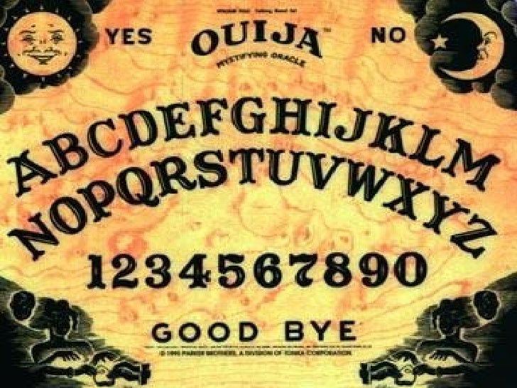 A Fact Sheet On The Ouija Board