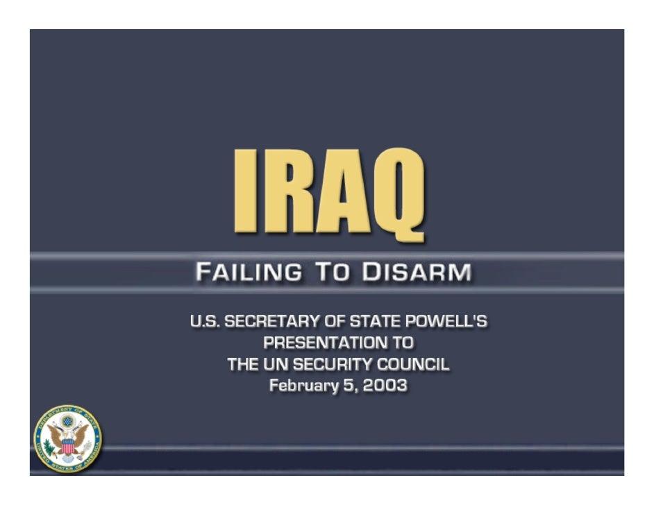A failure to disarm