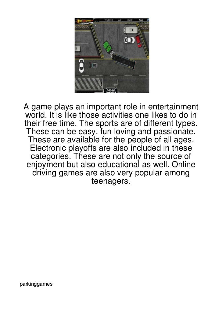 A game plays an important role in entertainment world. It is like those activities one likes to do in their free time. The...