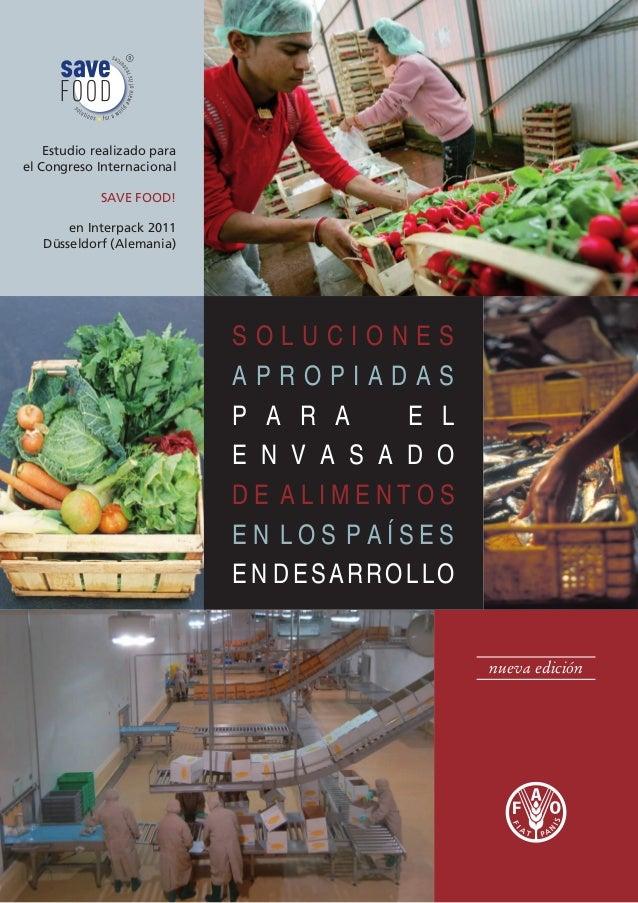 FAO - Envasado de alimentos
