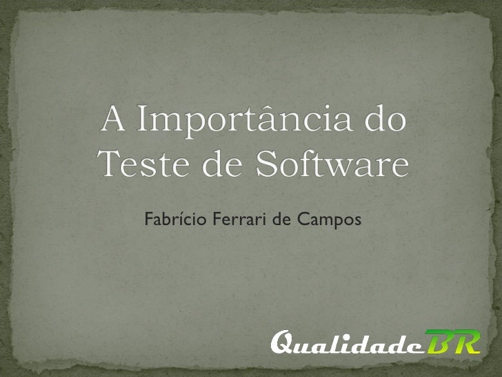 Fabrício Ferrari de Campos