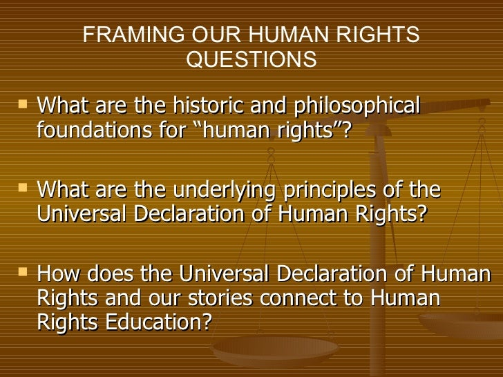 Need Help coming us with an Essay topic for human rights?
