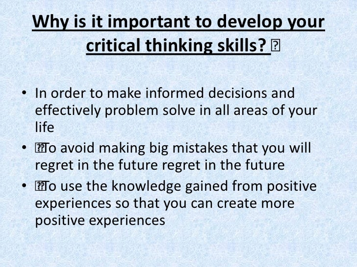 critical thinking an extended definition education It has also been found that experts from economy and education nominated critical thinking as the  critical for the firm it is  definition of critical thinking.