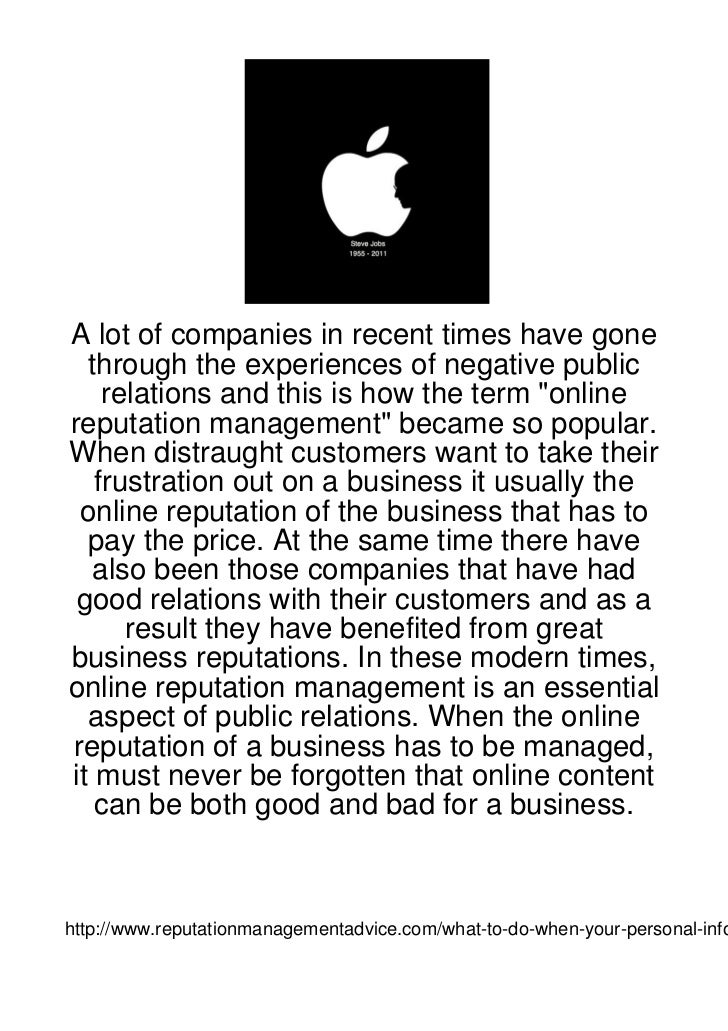 A lot of companies in recent times have gone  through the experiences of negative public    relations and this is how the ...
