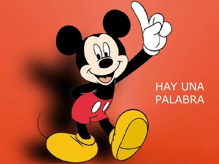 HAY UNA PALABRA