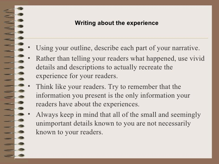 narrative essay on experience is the best teacher Is experience the best teacher essaycommon app essay topic of choice: experience is the best teacher daniel guerrero my.