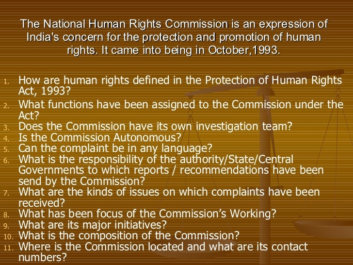 essay on national human rights commission india Lately national human rights commissions (nhrcs) have become prominent actors in the national, regional and international human rights arena the un bodies and other funders in international donor community have directly encouraged and supported both technically and financially the growth of these institutions.