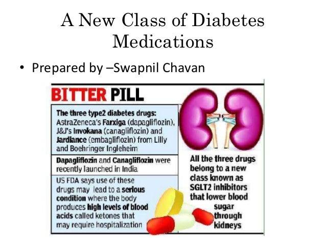 New Class of DiabetesMedications• Prepared by –Swapnil Chavan