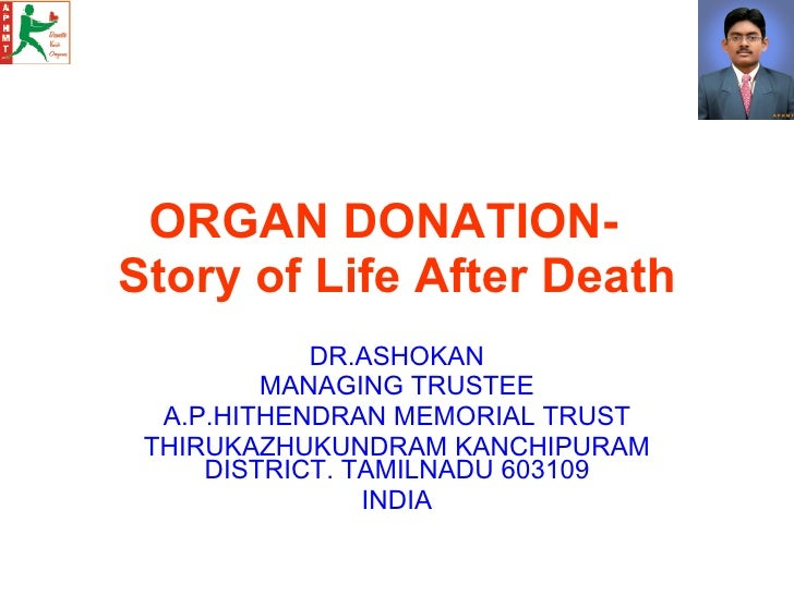 A.P.H.M.T. English Version Of Organ Donation Ppp