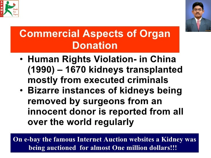 organ donations and transplantation for criminals Thoughts and ethical issues surrounding organ organ donations after death the process of gift the success rate of organ transplantation on an average.