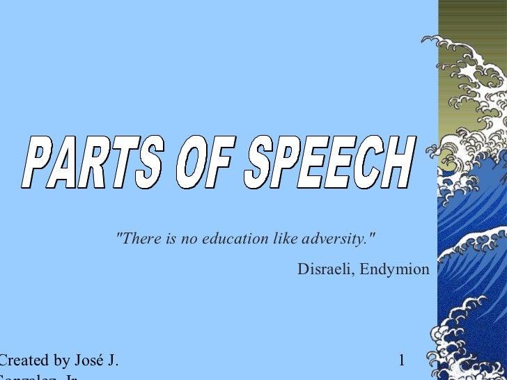 A parts-of-speech