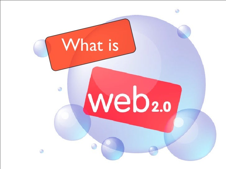A Quick Web 2.0 Introduction