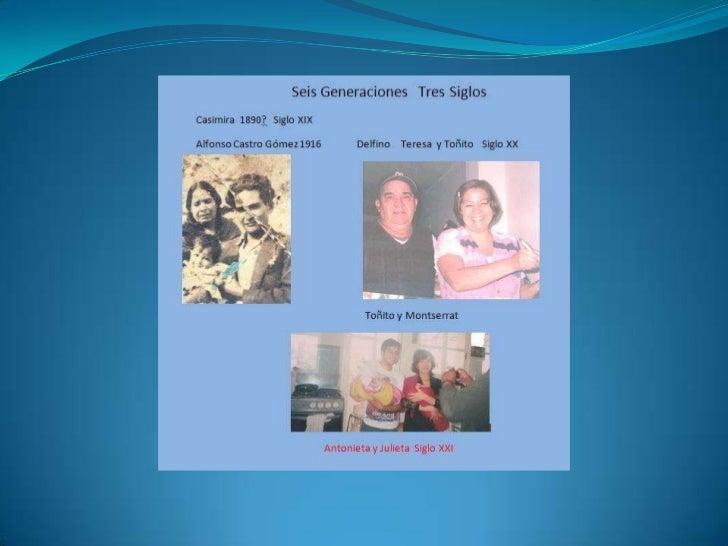 Cuatro Generaciones 1946-2012