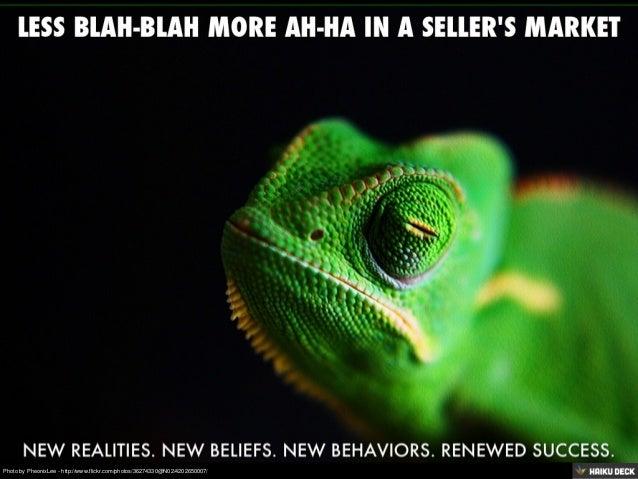 A Seller's Market Mind Set