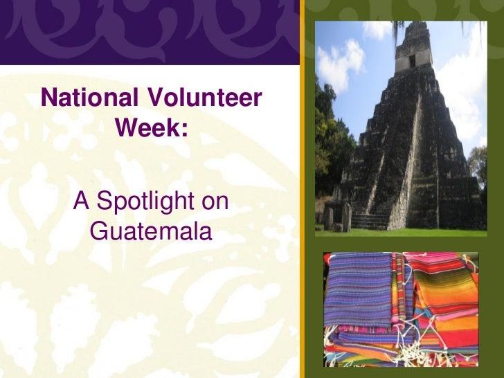 A Spotlight on Guatemala - CCS Webinar Presentation