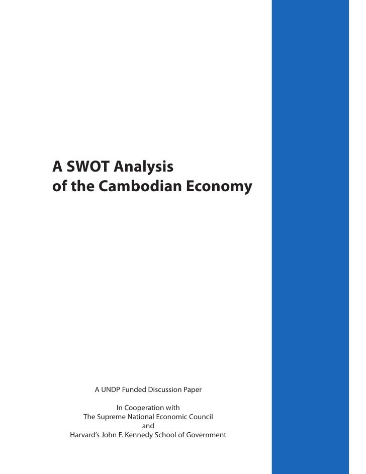 Swot Analysis on Vietnamese Economy