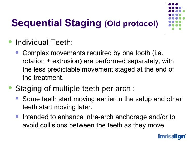 Staging protocol sequential staging old protocol simultaneous staging