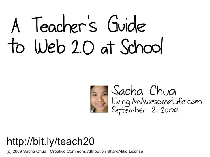 A Teacher's Guide To Web 2.0 at School